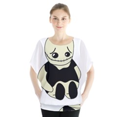 Halloween sad monster Blouse
