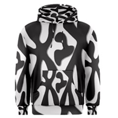 Black and white dance Men s Pullover Hoodie