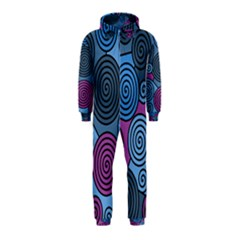 Blue hypnoses Hooded Jumpsuit (Kids)
