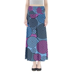 Blue Hypnoses Maxi Skirts