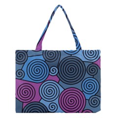 Blue hypnoses Medium Tote Bag