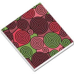 Red and green hypnoses Small Memo Pads