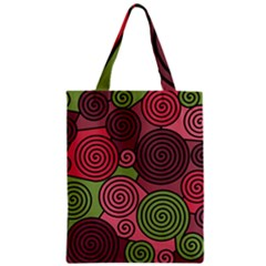 Red and green hypnoses Classic Tote Bag