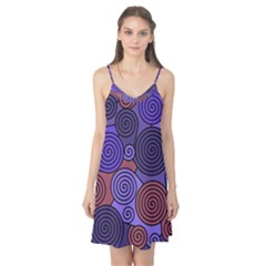 Blue and red hypnoses  Camis Nightgown