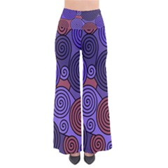 Blue and red hypnoses  Pants