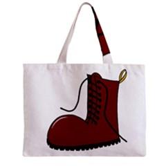 Boot Zipper Mini Tote Bag