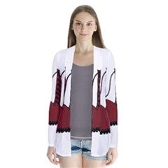 Boot Drape Collar Cardigan