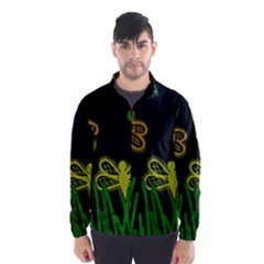 Neon dragonflies Wind Breaker (Men)