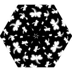 White dragonflies Mini Folding Umbrellas