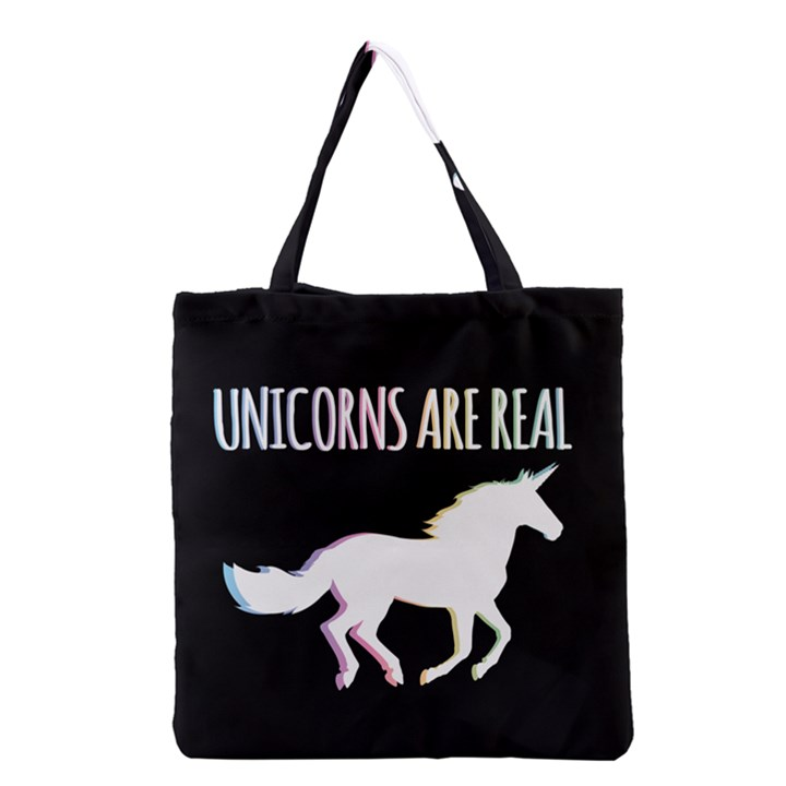 Unicorns are Real Grocery Tote Bag