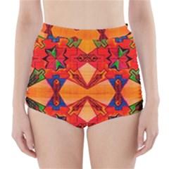Ghbnh High Waisted Bikini Bottoms