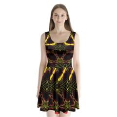 Gunja Go Split Back Mini Dress