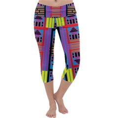 HOUSE O HOUSE Capri Yoga Leggings