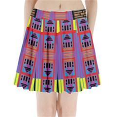 HOUSE O HOUSE Pleated Mini Skirt