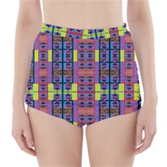 HOME INA HOUSE High-Waisted Bikini Bottoms