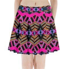 ELEVEN HOUSE Pleated Mini Skirt