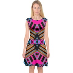 Eleven House Capsleeve Midi Dress