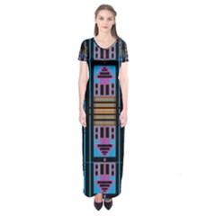 Door Two Door Short Sleeve Maxi Dress