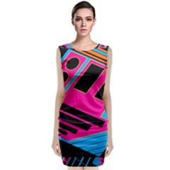 Olool Classic Sleeveless Midi Dress