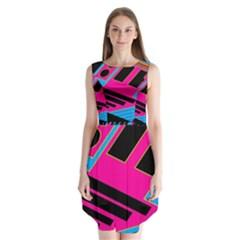 Olool Sleeveless Chiffon Dress