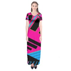 Olool Short Sleeve Maxi Dress