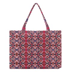 Rhomboid Pattern Medium Tote Bag