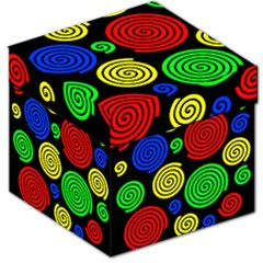 Colorful hypnoses Storage Stool 12