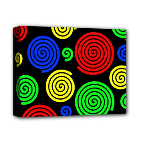 Colorful hypnoses Deluxe Canvas 14  x 11