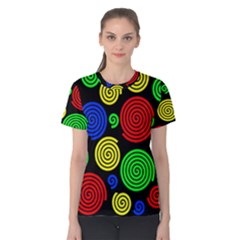 Colorful hypnoses Women s Cotton Tee