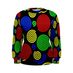 Colorful hypnoses Women s Sweatshirt