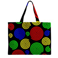 Colorful hypnoses Zipper Mini Tote Bag