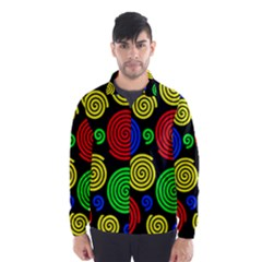 Colorful hypnoses Wind Breaker (Men)