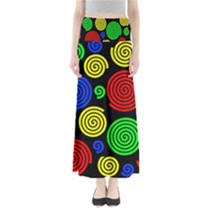 Colorful hypnoses Maxi Skirts