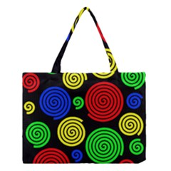 Colorful hypnoses Medium Tote Bag