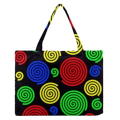 Colorful Hypnoses Medium Zipper Tote Bag