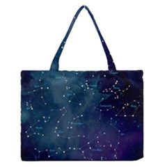 Constellations Medium Zipper Tote Bag