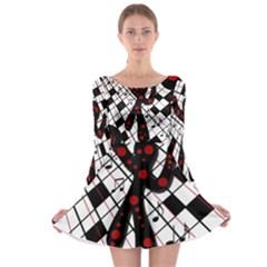 On the dance floor  Long Sleeve Skater Dress