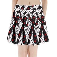 On the dance floor  Pleated Mini Skirt