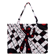 On the dance floor  Medium Tote Bag