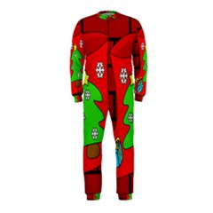 Christmas sock OnePiece Jumpsuit (Kids)