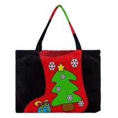 Christmas sock Medium Tote Bag