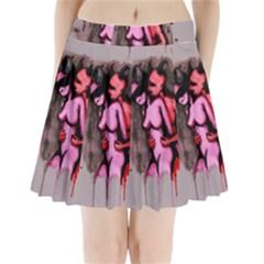 Whisper Pleated Mini Skirt