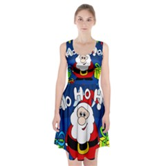 Santa Claus  Racerback Midi Dress