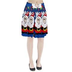 Santa Claus  Pleated Skirt