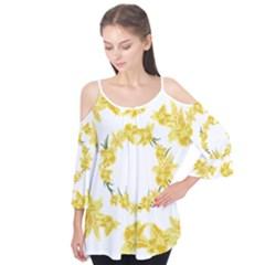 Daffodils Illustration  Flutter Tees