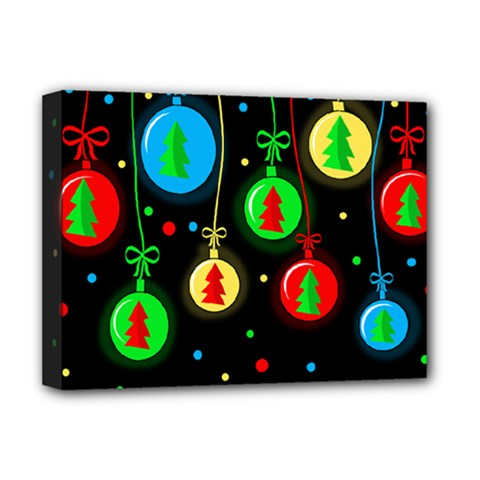 Christmas balls Deluxe Canvas 16  x 12
