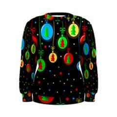 Christmas balls Women s Sweatshirt