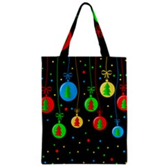 Christmas balls Zipper Classic Tote Bag