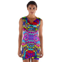 Phone Pic (201)55 Wrap Front Bodycon Dress