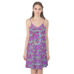 Paradise Of Wonderful Flowers In Eden Camis Nightgown